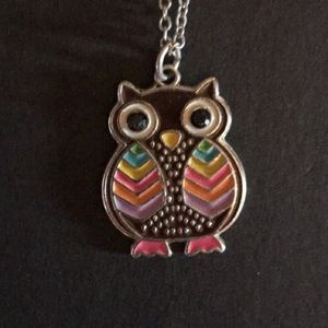 Jewelry - Colorful Owl Necklace